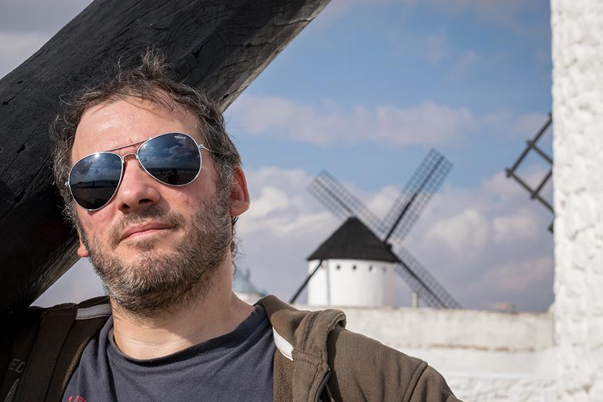 Javier Moraleda en Campo de Criptana